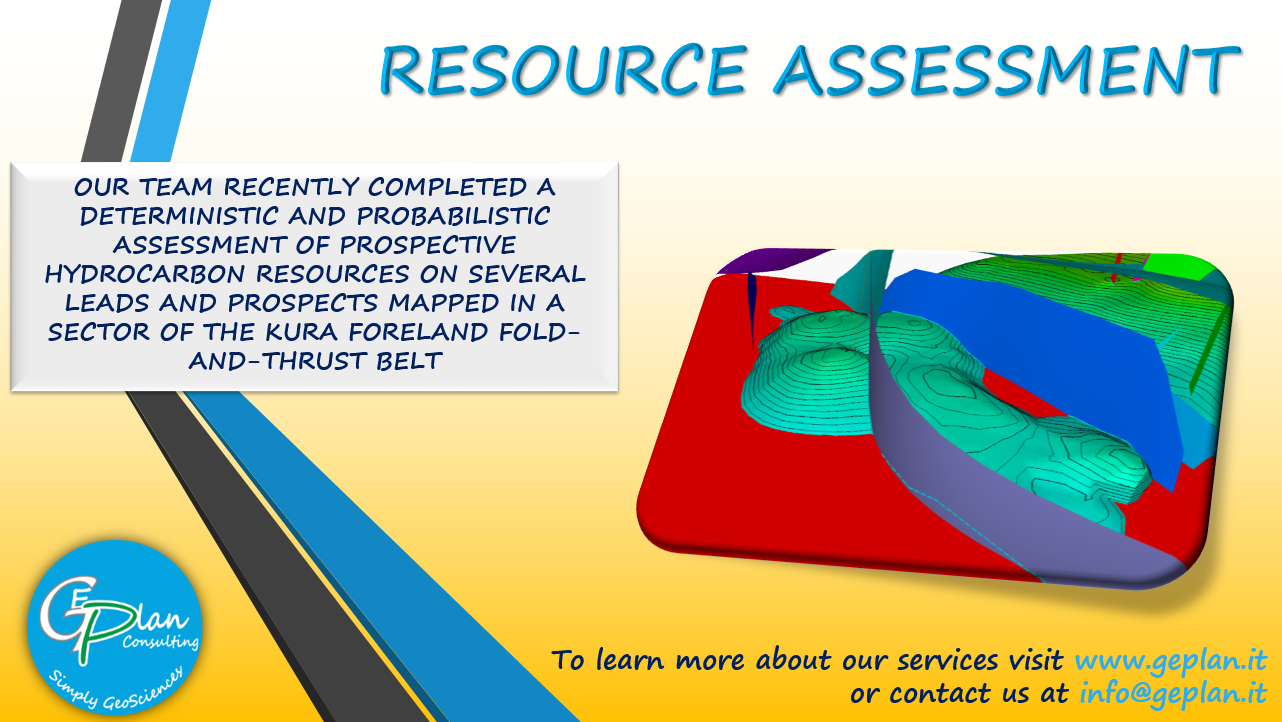 RESOURCE ASSESSMENT IN THE KURA FORELAND FOLD-AND-THRUST BASIN