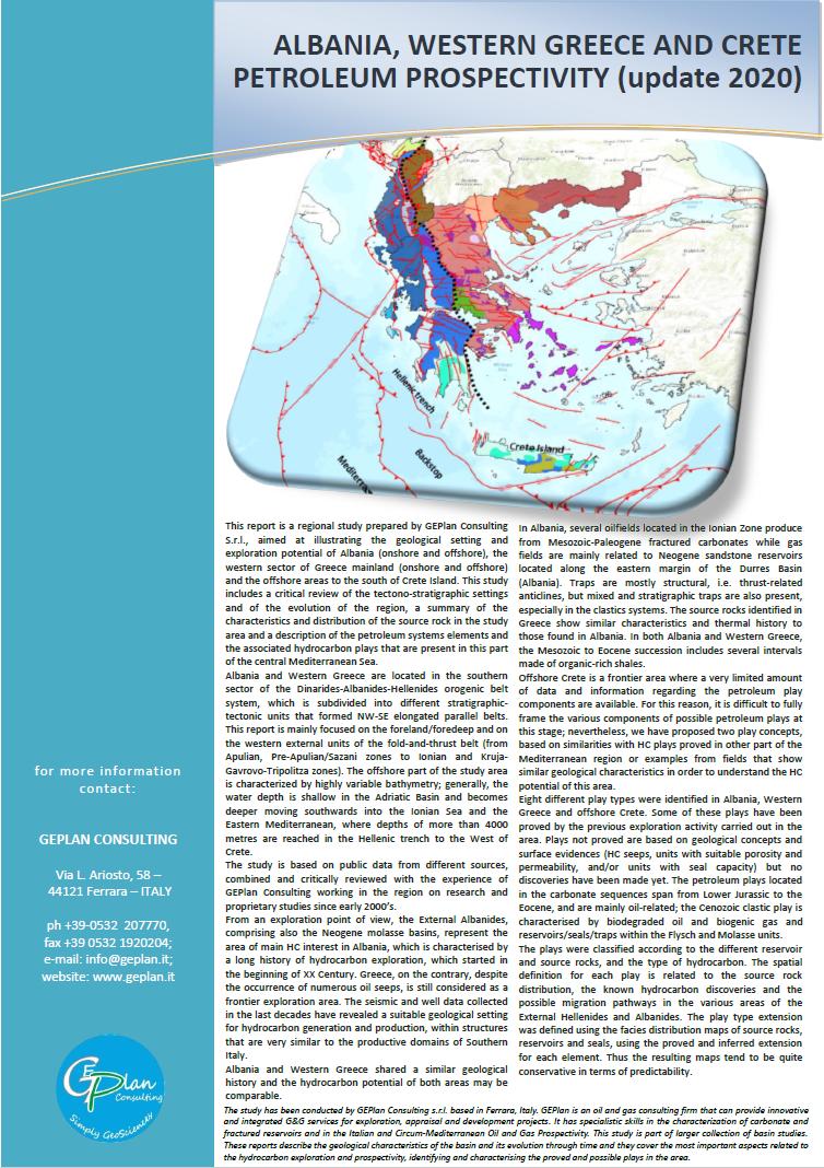¡Lanzamiento del nuevo informe multicliente de Albania, Grecia occidental y Creta!