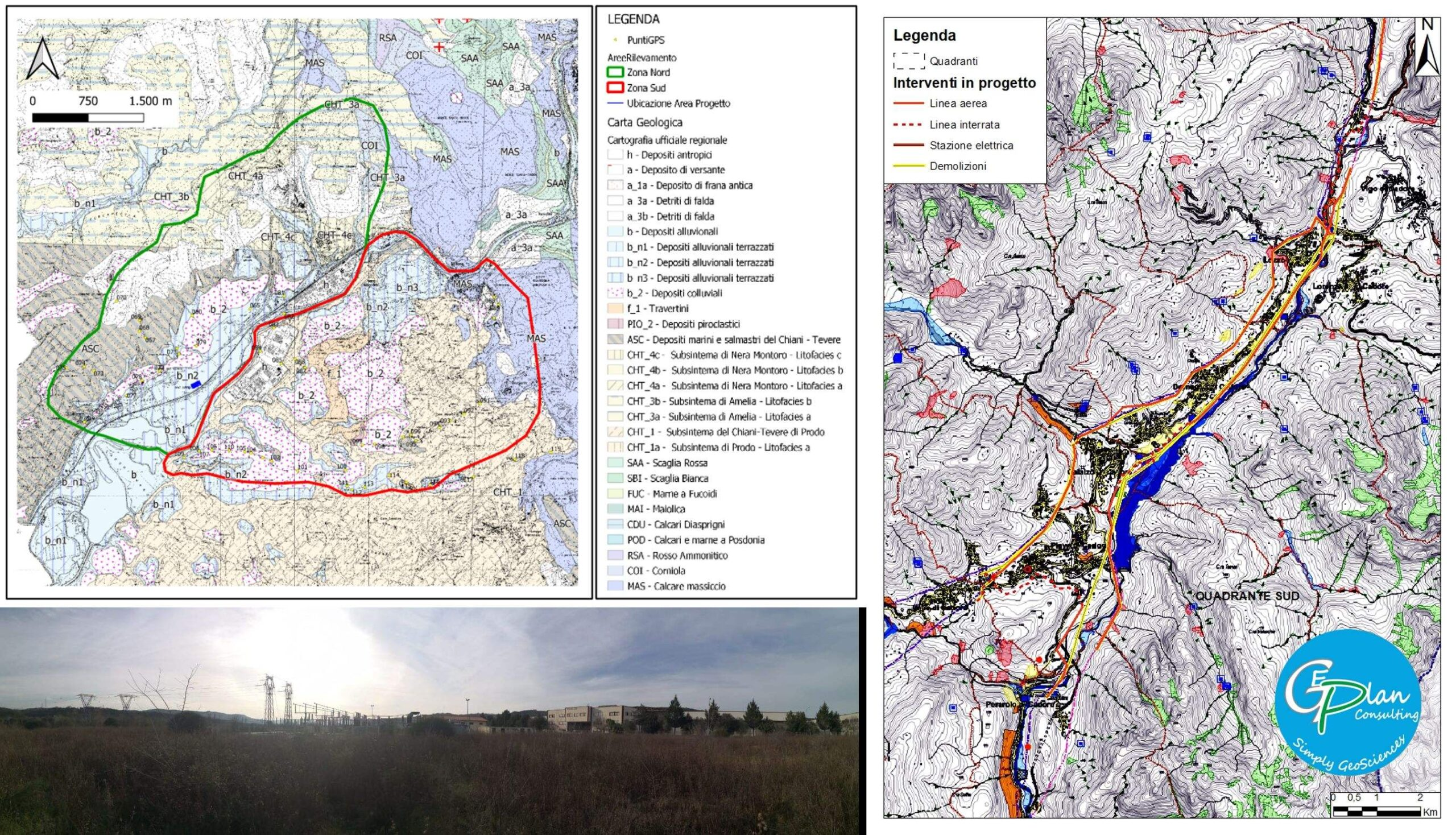 Geomorphological study and environmental assessment